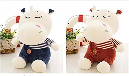 Jouets mignons doux hippo 45cm peluche poupées poupées poupées jouets pour enfants Cadeau de peluche pour les enfants (Couleur : Wine Red, Taille : 30cm) B07LB2KFCQ 9d9620