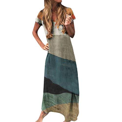 Vestidos Casual Mujer Largos Verano Playa Tallas Grandes