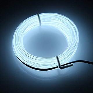 Lerway 3 M LED Lichtschlauch Mit Dimmerbox Flexibles Neon Lichterband Für  Fahrrad,Garten