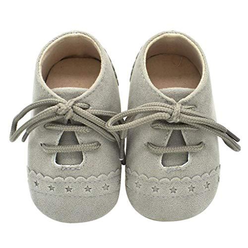 Zapatos Bebé Niña 2019 SHOBDW Zapatos Bebé Niño Verano Suela Suave Antideslizante Zapatillas Ata...