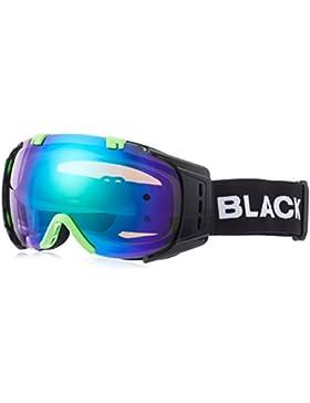 Black Crevice Máscara de Esquí Warh Negro/Verde