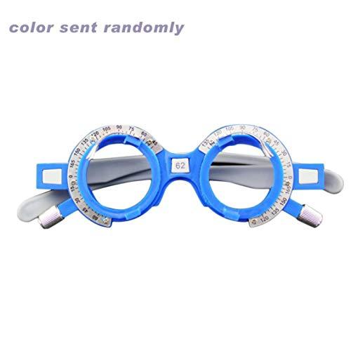 vige Justierbarer optischer Versuchsobjektiv-Rahmen 52-70mm PD Augen-Optometrie-Optiker-Plastikbrillen-Rahmen-Brillen-Zubehör