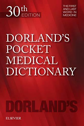 Dorland's Pocket Medical Dictionary, 30e (Dorland's Medical Dictionary) por Dorland
