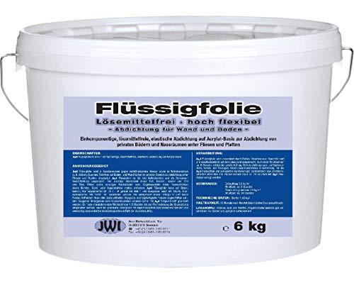 Dichtfolie flüssig Flüssigfolie Dusche Bad Duschabdichtung Fliesenabdichtung Hoch Flexibel 6 kg