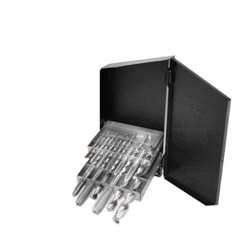 Neiko Pro 10138B Coarse Tap & Drill Bit Set-18 Piece with USA Made Huot Index Case by Neiko