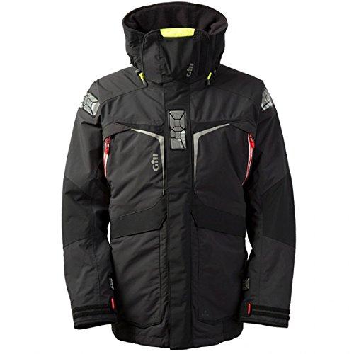 Gill Thermal (Gill OS2 Mantel Mantel Mantel Graphit mit Wärmeisolierung. Wasserdicht und atmungsaktiv - Thermal Warm Heat Layer Layers)