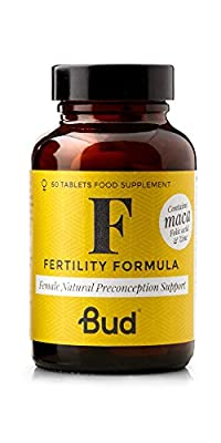 Bud® Female Fertility Supplement | Natural Fertility Vitamins for Women with Maca + Folic Acid, Zinc & Vitamin D | 60 tablets - Made in UK from Bud Nutrition