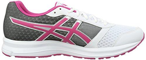 Asics Patriot 8, Gymnastique mixte adulte Bianco (White/Sport Pink/Silver)