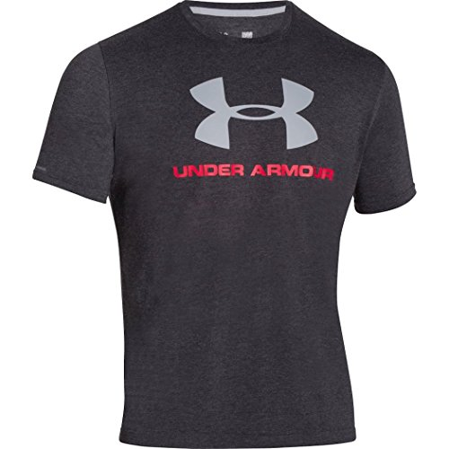 Under Armour Herren Oberteile / T-Shirt Charged Cotton Sportstyle Logo schwarz L