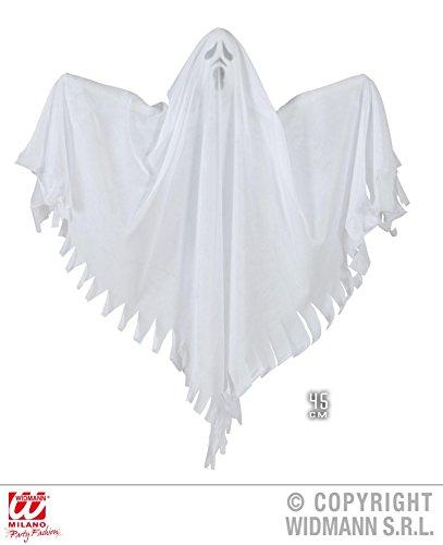 RAUMDEKO - GESPENST - weiß, 45 cm Halloween Deko