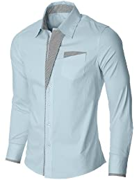 Mens Casual Slim fit Dress Shirts S41 Colletion Brand Name: newfacelook