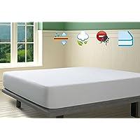 Savel, Protector de colchón Rizo 100% algodón, Impermeable y Transpirable, 135x190/200cm (para camas de 135)