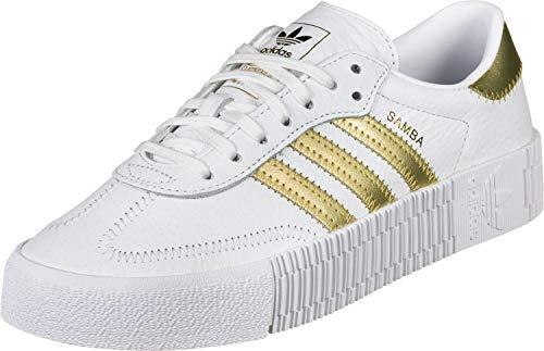adidas Originals Sneaker SAMBAROSE W EE4681 Weiß Gold, Schuhgröße:40 2/3