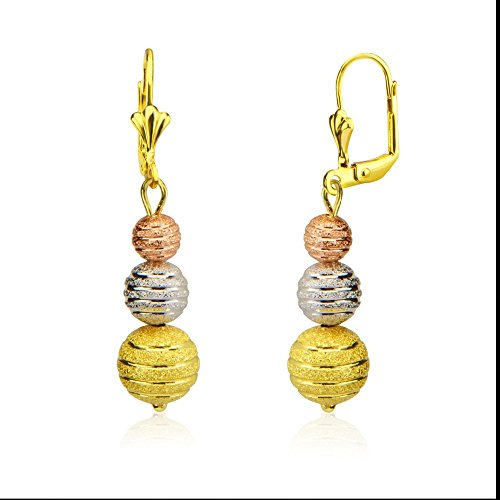high-and-new-technology-three-color-gold-plating-beads-earrings-e10144