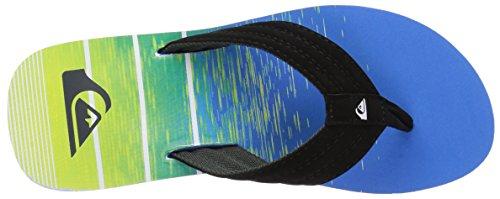 Quiksilver - Sandales de Base pour hommes Black/Blue/Green