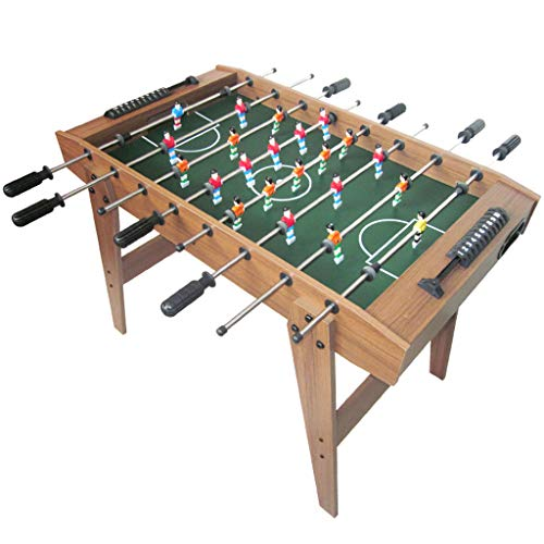 Hh001 Table Football 8-bar Wooden Football Machine Indoor Table Football Machine Parent-child Interactive Board Game Toy Boy Fitness Sports Toy Children's Educational Toy