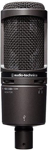 Audio Technica AT2020 USB Test