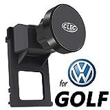 AYADA Porta Cellulare per VW Golf 7, Volkswagen Golf 7 Supporto Cellulare Magneti Potenti Stabile Rotazione di 360 ° Mani libere Golf Supporto Porta Telefono VW Golf 7 Accessori (Magnetic)