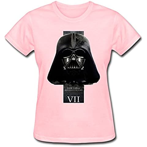 Women's Star Wars: The Force Awakens Darth Vader Logo Art T-shirtYILIAX11142XXXX-L