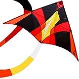 Best Stunt Kites - emma kites FIREBIRD 150cm Delta Kite Rainbow Review