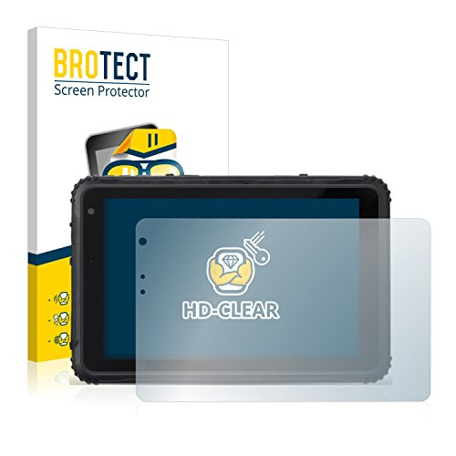 BROTECT Schutzfolie kompatibel mit Caterpillar Cat T20 [2er Pack] - kristall-klare Bildschirmschutz-Folie, Anti-Fingerprint