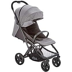 CBX EtuPlus - Silla de paseo, incluye plástico para lluvia, desde el nacimiento hasta los 15 kg, Comfy Grey