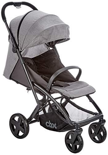 CBX Passeggino Etu Plus, Parapioggia Incluso, Dalla Nascita fino a 15 kg, Comfy Grey