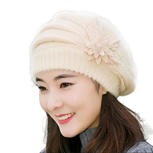 hut-winwintomr-womens-flower-knit-crochet-beanie-hut-winter-warm-mutze-baskenmutze-beige