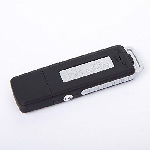 USB Stick mit Audiorecorder MVR-100 / Spy Diktiergerät / diskrete Audioüberwachung / Speicherkapazität 4GB / speichert bis 70h Aufnahmen