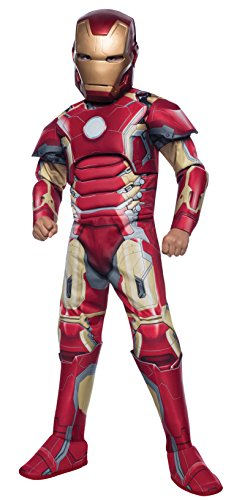 Marvel - Avengers Age of Ultron - Deluxe Iron Man Kostüm (5-7 Jahre; 132cm) [UK Import]