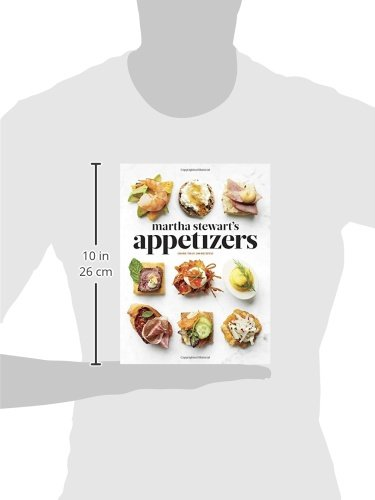 41xTa7l7uUL - Martha Stewart's Appetizers: 200 Recipes for Dips, Spreads, Snacks, Small Plates, and Other Delicious Hors D'oeuvres, Plus 30 Cocktails