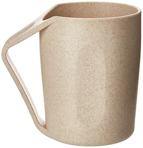 eundlicher Weizenstrohhalm leichter Becher aus Kunststoff für Wasser, Kaffee, Milch (6 Tassen) (6) ()