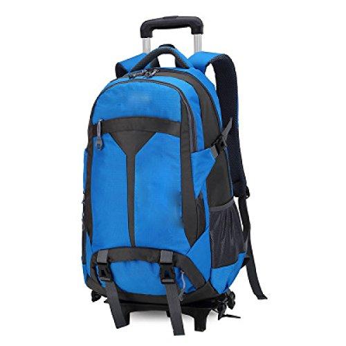 TUOZA Outdoor Bergsteigertasche Mit Großer Kapazität Stange Rucksack Blue