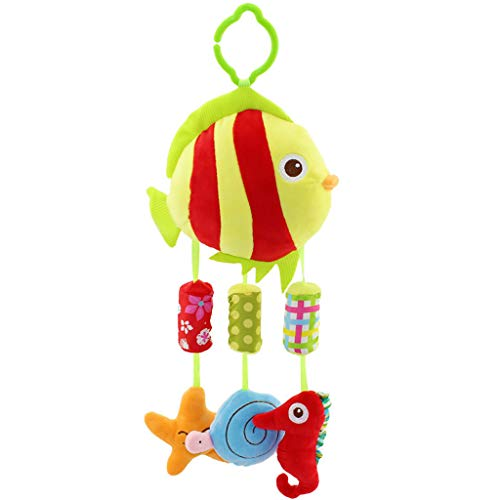 Cardith Kinder Baby Spiralbett Kinderwagen Spielzeug Tier Styling Bildung Plüsch Spielzeug