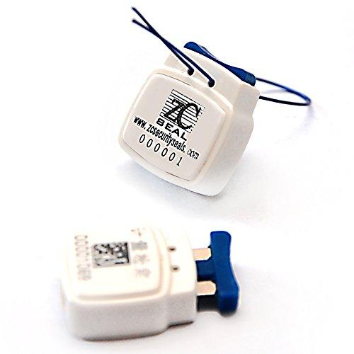ZhengCheng(R) - Sello medidor eléctrico cuadrado de alta seguridad co