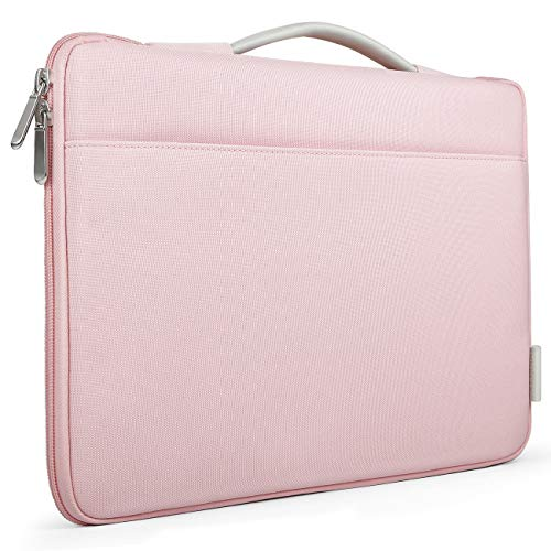 Inateck 13-13,3 Zoll Sleeve Hülle Ultrabook Laptop Tasche Kompatibel mit 13,3 Apple MacBook Pro Retina/MacBook Air und Surface Pro6/Surface Pro 2017/4/3, Rosa