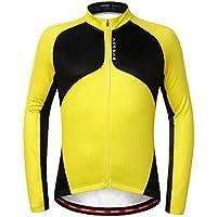 LSKCSH 4 Color otoño/Invierno Ciclismo Ciclismo Manga Larga Polar Lana Jersey Deportes al Aire