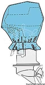 Capotes pour moteur hors-bord, Couleur: bleu, Puissances indiquées HP: 2/4 HP, Longueur cm: 40x24x27h