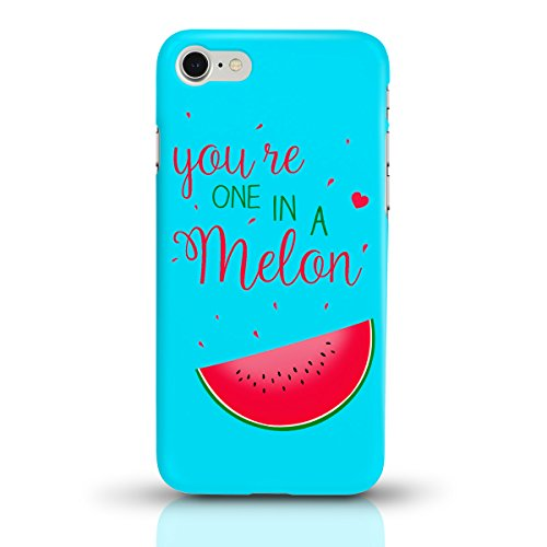 "JUNIWORDS Handyhüllen Slim Case für das iPhone 6/6s - ""Ananas Design 3 Strand"" - Handyhülle, Handycase, Handyschale, Schutzhülle für Ihr Smartphone Melone Design 1 you're one in a melon"
