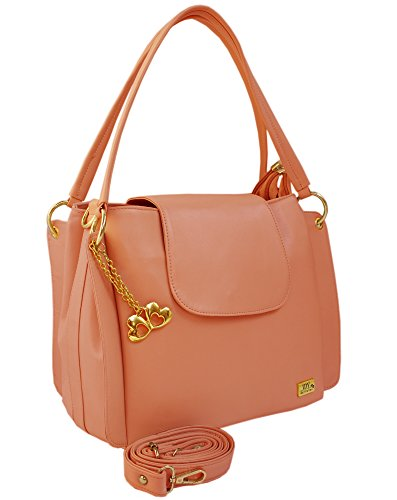 I Define You Latest Peach Color Party Wear Handbag & Sling bag For Girls and Women's