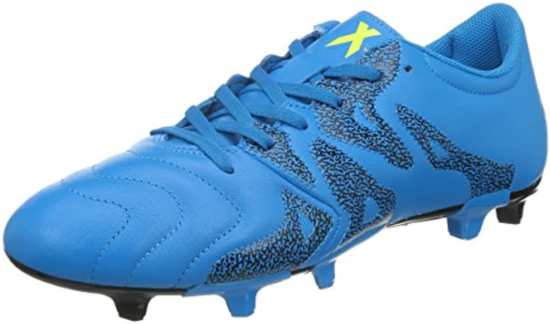 adidas Performance X15.3 FG/AG Herren Fußballschuhe  SOLBLU/CBLACK/SYELLO  8 UK