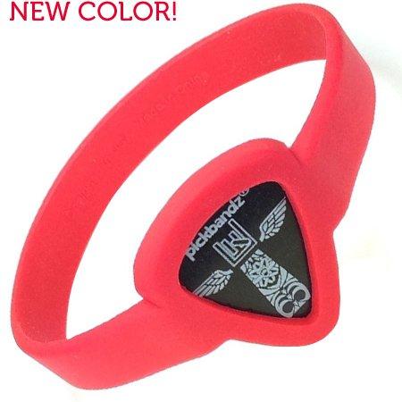 Pickbandz Armband Small Rockin Red Size S