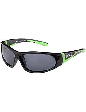 [Sponsorizzato]Duco Kids sport stile polarizzato occhiali da sole in gomma telaio flessibile per ragazzi e ragazze