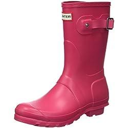 Hunter Wellington Boots, Botas de Agua para Mujer, Rosa (Pink Rbp), 39 EU