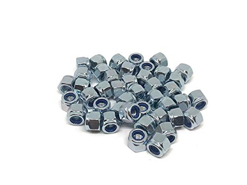 8mm Nylon Insert Lock Nuts A2 Stainless Steel Free UK Delivery by DBA Hardware 20 Pack M8 Nyloc Nut
