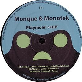 Price comparison product image MONQUE & MONOTEK / PLAYMOBIL 9 EP