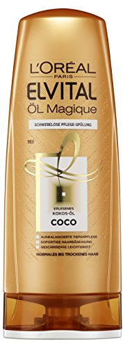 elvital coco L'Oréal Paris Elvital Öl Magique Coco Spülung, 3er Pack (3 x 250 ml)