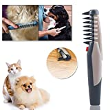 Yiye Zhiqiu Peignes de Chien, Peignes de Chien Bon marché, 1pcs électrique Pet Pet...