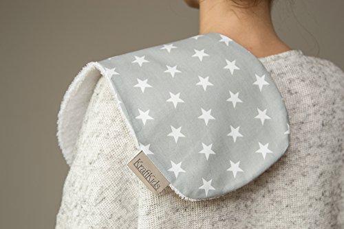 Force Kids rot petites étoiles sur blanc gris