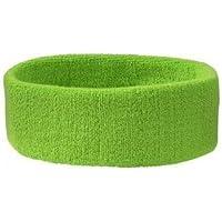 Stirnband Headband Kopfband Knitband Schweißband schwarz navy rot weiß Stirnbänder Tennis Squash Badminton Fitness (Preis pro Stück)
